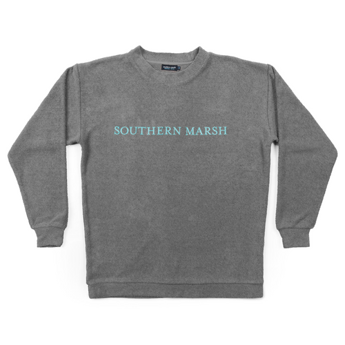 Southern Marsh Sunday Morning Sweater Burnt Taupe