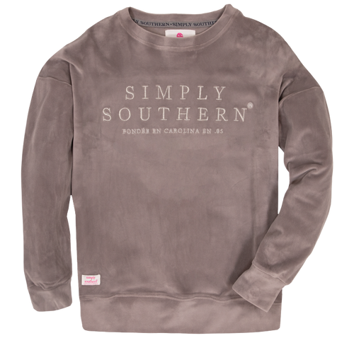Simply Southern Squishy Top Gray