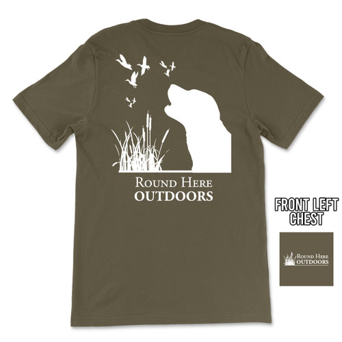 Round Here Outdoors Duck Dog
