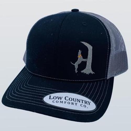 Low Country Comfort Co. Treeing Coon Black/Charcoal Hat