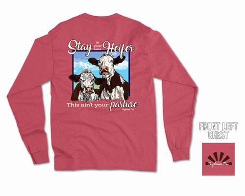 Daydream Tees Stay In Your Lane Heifer Long Sleeve