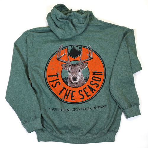 A Southern Lifestyle Co. Tis the Season Hoodie Olive