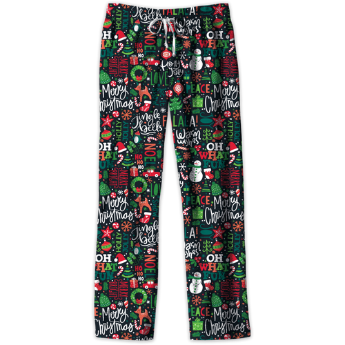 Southern Couture Lounge Pants Christmas Paper