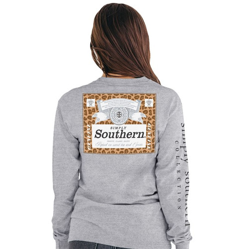 Simply Southern Southern Heather Grey LS