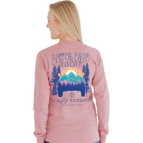 Simply Southern Better Crepe LS