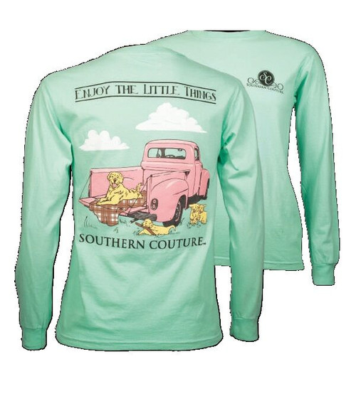 Southern Couture Vintage Truck Long Sleeve