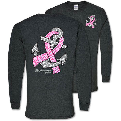 Southern Couture Hope Anchor Long Sleeve