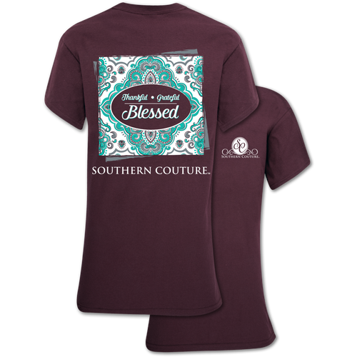 Southern Couture Thankful Grateful Blessed