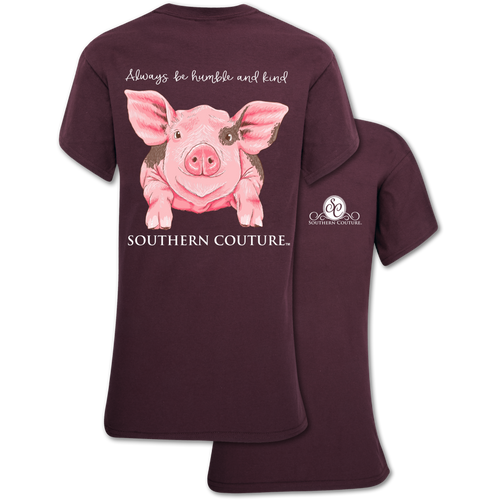Southern Couture Humble And Kind Pig