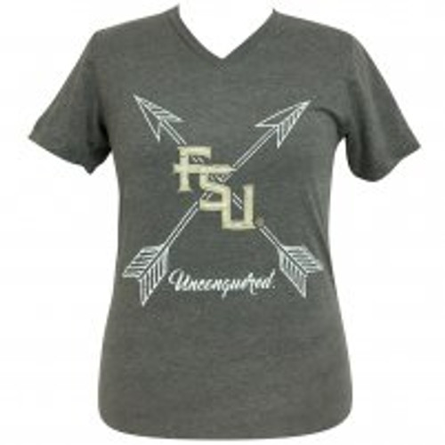 Arrows Unconquered FSU V-Neck