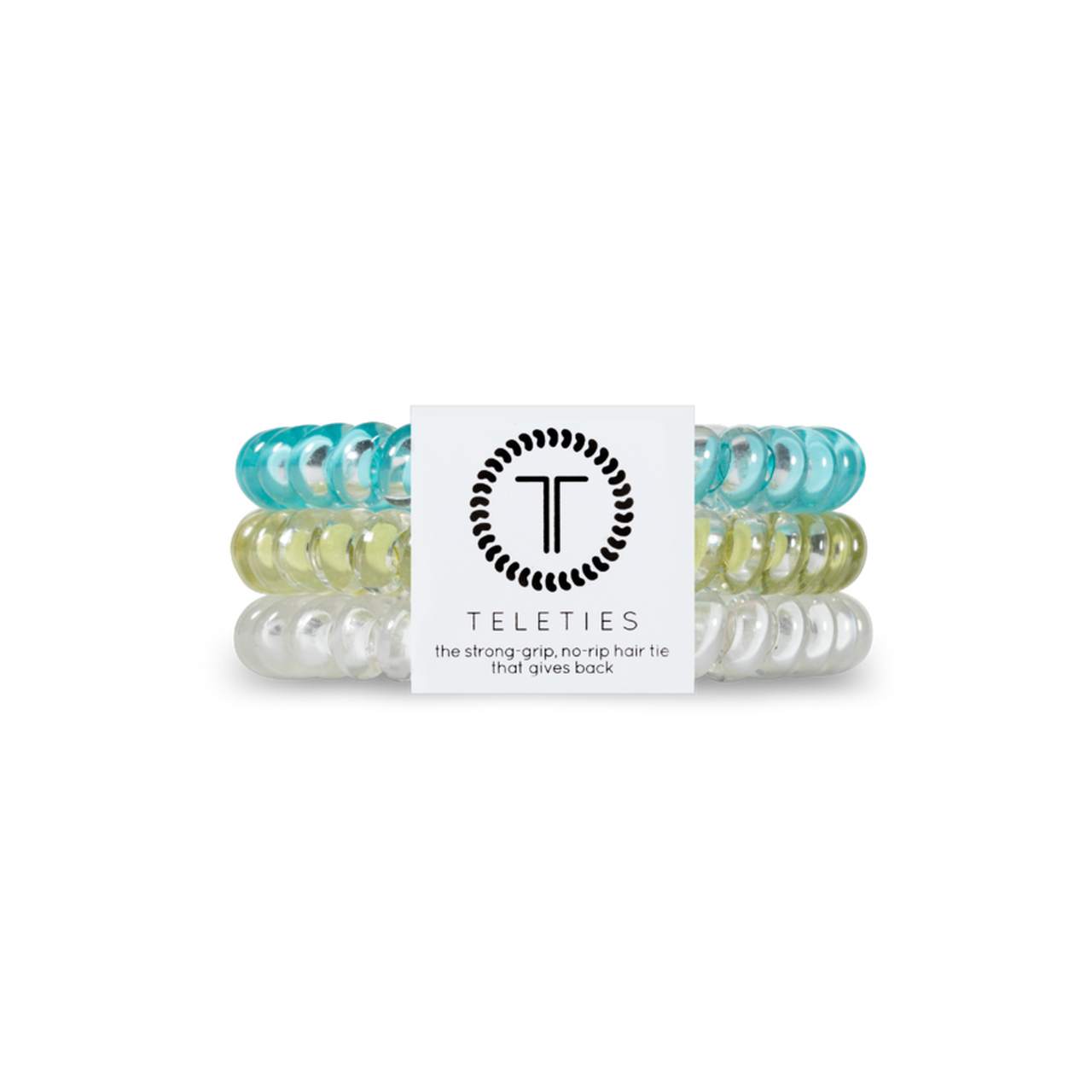 Teleties teal green and clear set