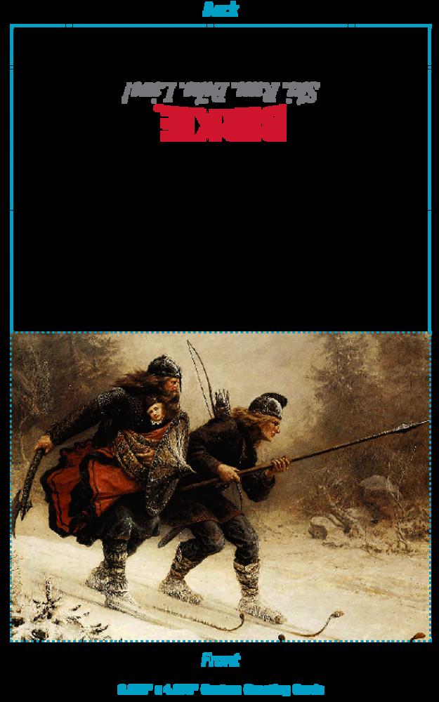 Greeting Card - Warrior