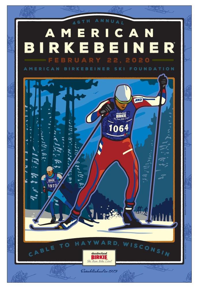 2020 Birkie Poster