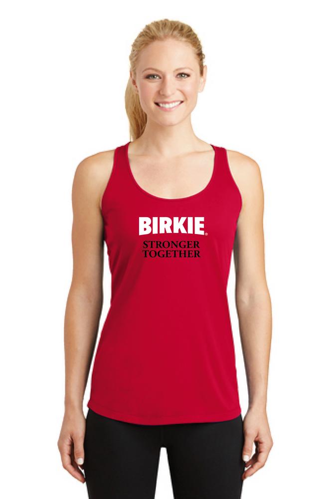 #BirkieStrongerTogether Women's Tech Tank