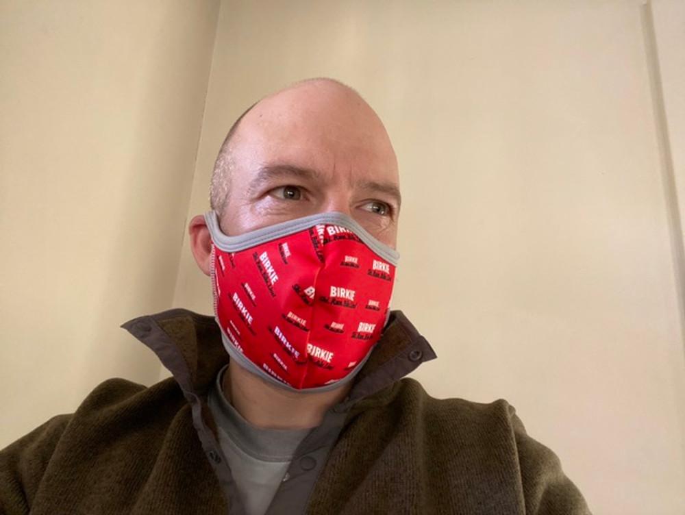 Birkie Face Mask