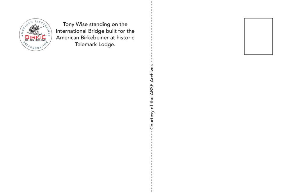 Postcard - Tony Wise