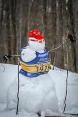 Postcard - Snowman