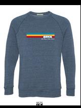 Retro Stripes Crew Sweatshirt