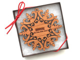 Ornament - Birkie Snowflake