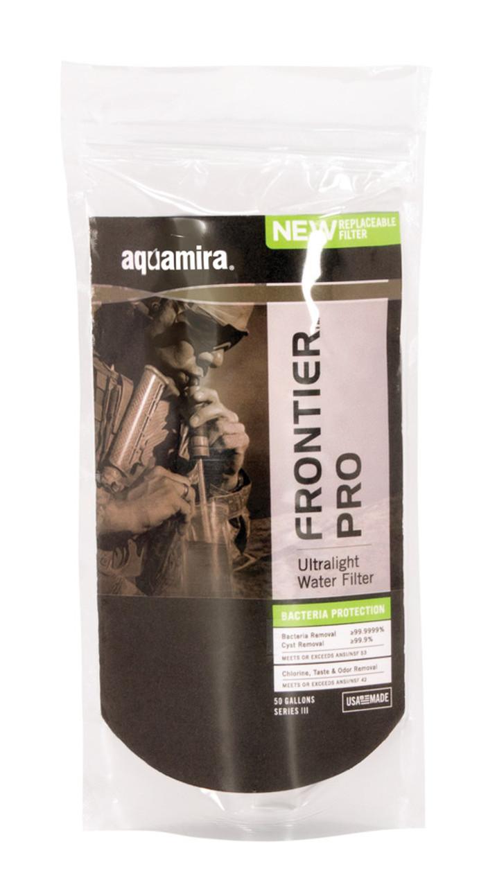 Lot of 3 Aquamira Pro Military Ultralight Water Filter