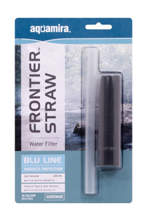 Aquamira Frontier Max Filtration System Ultralight Red Line Hiking Water Filter