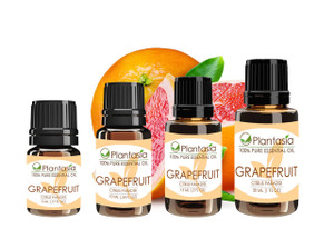 Grapefruit Pink Essential Oil 100% Pure and Natural Aromatherapy by Plantasia