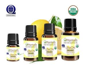 Lemon Organic Essential Oil 100% Pure Therapeutic Grade Aromatherapy