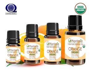 Orange Sweet Organic Essential Oil 100% Pure Therapeutic Grade Aromatherapy