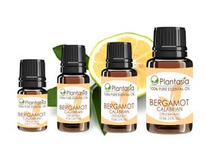 Bergamot Calabrian Essential Oil 100% Pure Therapeutic Grade Aromatherapy