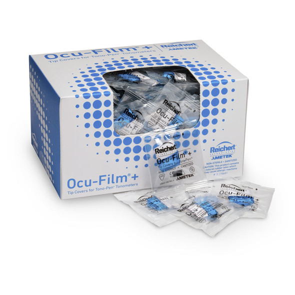 Reichert® Ocu-Film® + Tip Covers (Box of 150, individually wrapped)