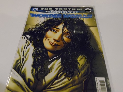 DC Universe Rebirth Wonder Woman The Truth Part One