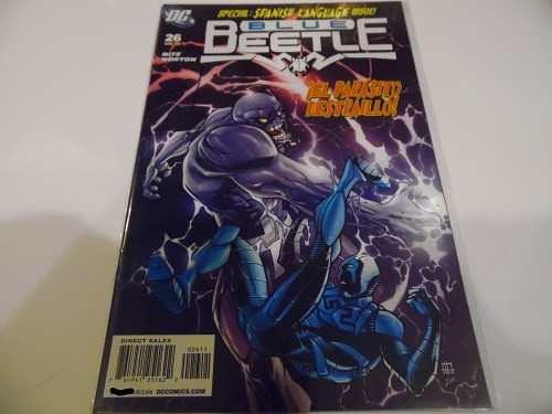Blue Beetle Spanish Edition Comic Book Issue 26