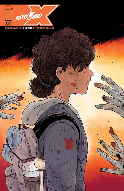 This comic book features new stories from Rick Grimes 2000, Manifest Destiny, Ultramega
