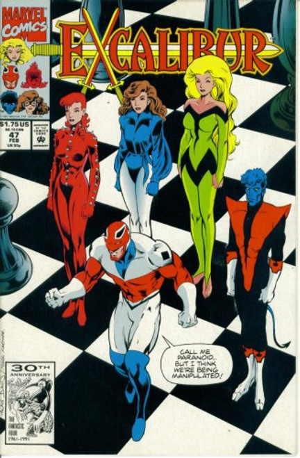 Excalibur -Come One and All to the Ugly Bug-Eyed Monster Ball Issue #47