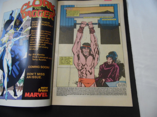 The New Mutants #26 First Cameo Appearance of Legion Key Issue