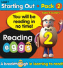 ABC Reading Eggs Mega Book Pack - Starting Out Pack 2