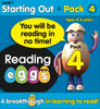 ABC Reading Eggs Mega Book Pack - Starting Out Pack 4