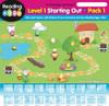 ABC Reading Eggs Mega Book Pack - Reading Eggs Map