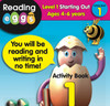 ABC Reading Eggs Book Pack Level 1 - Starting Out Activity Book