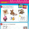 ABC Reading Eggs Book Pack Level 1 - Lesson on Letter M