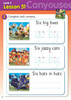 ABC Reading Eggs - Beginning to Read - Activity Book 6 Lesson 51 Can You See