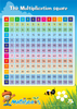 ABC Mathseeds - Poster Pack The Multiplication Square