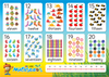 ABC Mathseeds - Poster Pack Numbers 11–20