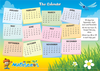 ABC Mathseeds - Poster Pack The Calendar