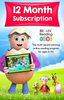 ABC Reading Eggs 12 Month Subscription