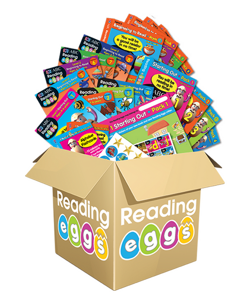 ABC Reading Eggs Mega Book Pack
