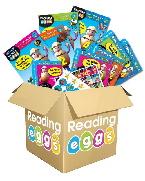 ABC Reading Eggs Book Pack Level 1
