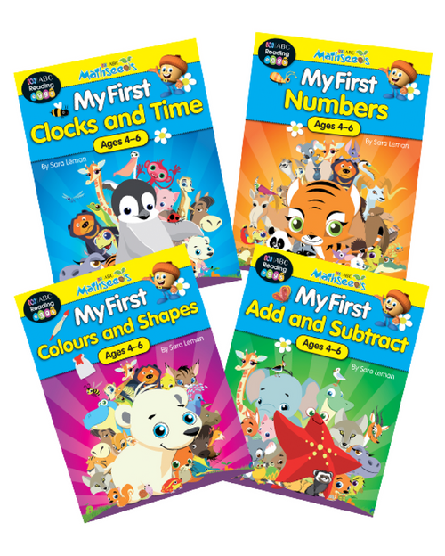 ABC Mathseeds My First Activity Books