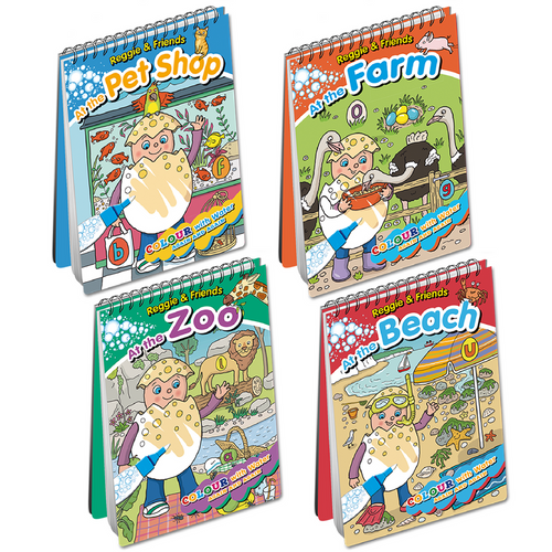 Reggie and Friends Water Book Pack