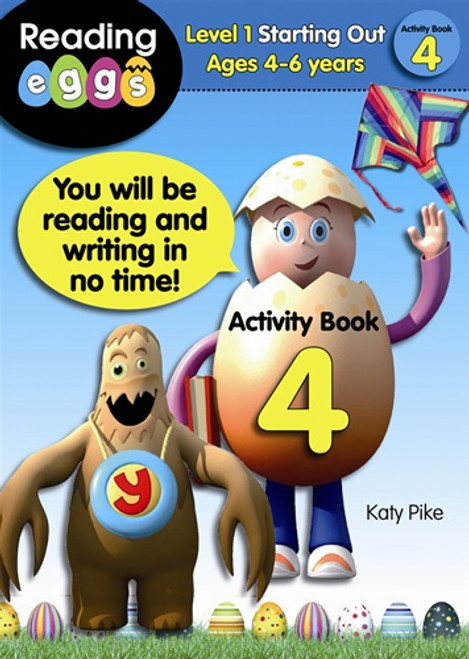 ABC Reading Eggs - Starting Out - Activity Book 4